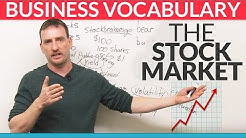 Business English Vocabulary: The Stock Market