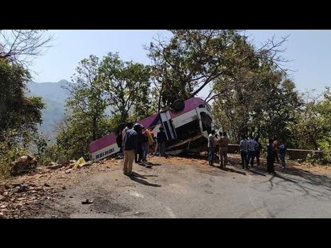 1 Killed, Over 15 Injured As Marriage Party Bus Overturns In Keonjhar