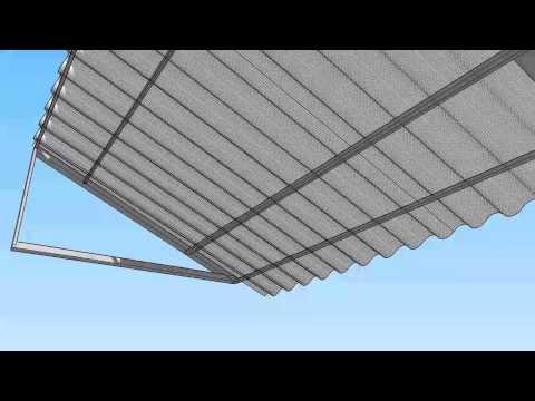 Corrugated Metal Awning