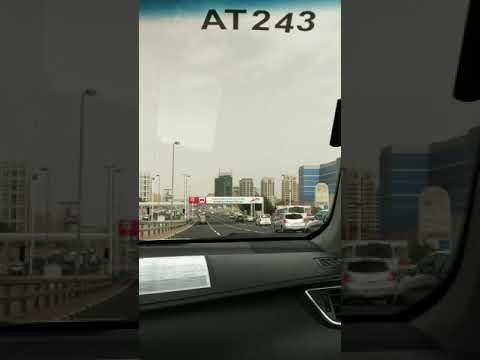 Dubai clock tower… #Taxi ride, #Dubai