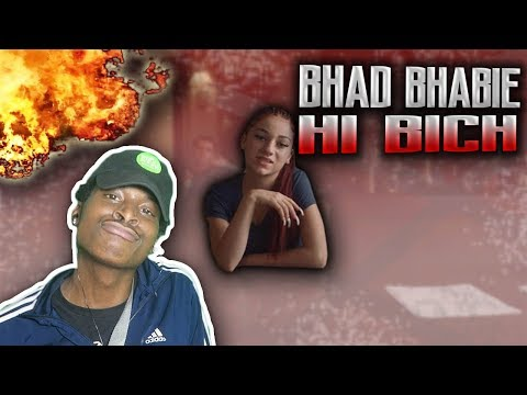 "BARS BARS! 🔥Danielle Bregoli is BHAD BHABIE ""Hi Bich / Whachu Know"" (Official Music Video) REACTION"