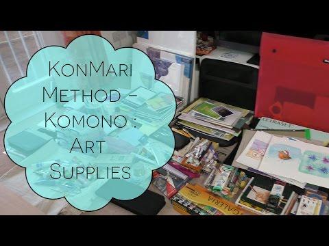 KonMari Method - Komono : Art Supplies