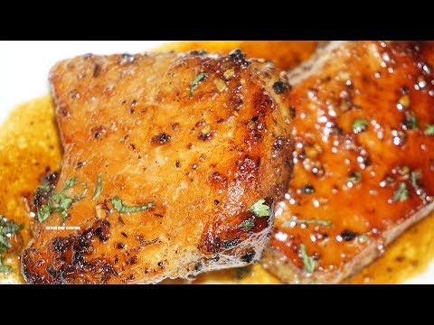 Honey Glazed Pork Chops| Extremely Juicy | Must Try!!
