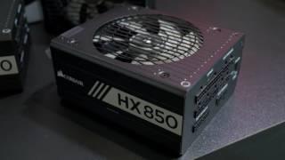 CORSAIR TX Series and HX Series power supplies