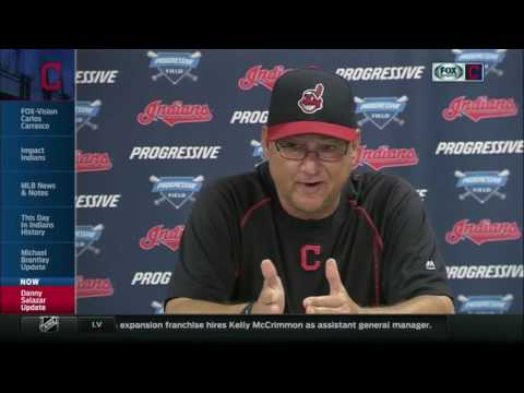 Terry Francona: Indians are being cautious with Danny Salazar