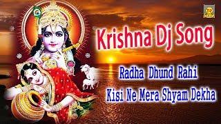 Krishna Dj Song | Radha Dhund Rahi Kisi Ne Mera Shyam Dekha | Hindi Krishna Song 2018 | Trimurti