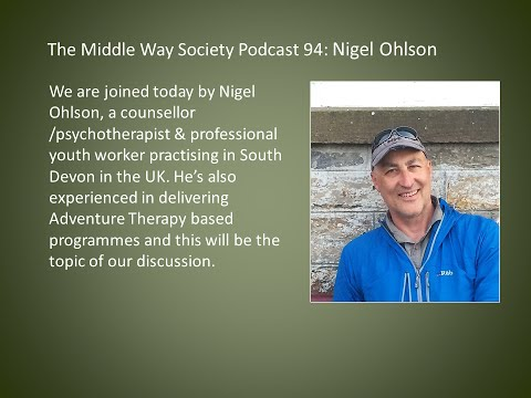 Nigel Ohlson on Adventure Therapy