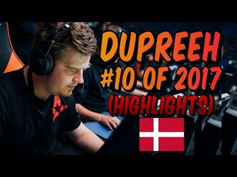 dupreeh - HLTV.org's #10 Of 2017 (CS:GO)