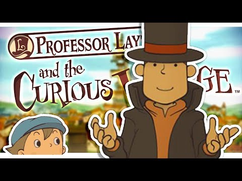【 Professor Layton and the Curious Village 】 - Part 1