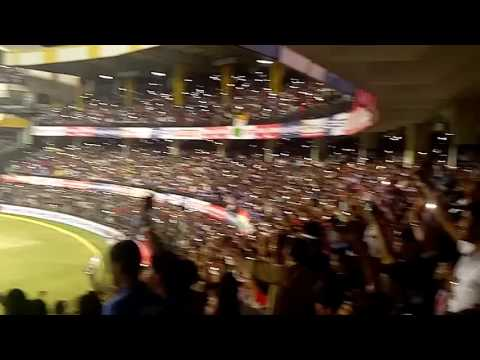 India vs south africa one day match indore crowd
