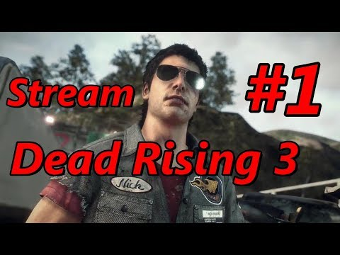 Dead Rising 3: #1: (Twitch Stream): Wasps Would Survive...