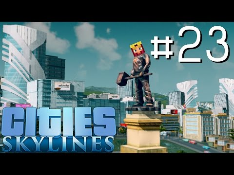 Cities Skylines Let's Play: Part 23 ►Expo Center◄ (Gameplay & Tutorial 1080p 60fps)