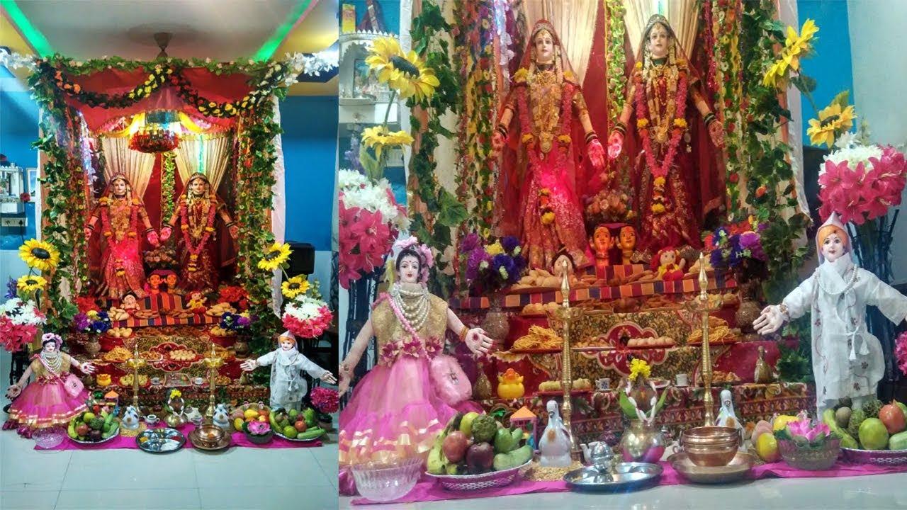 Gauri Ganpati Decoration Ideas 2016 Gauri Ganpati Decoration At Home 2016