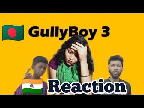 Gully Boy Part 3 (Official Music Video) | Rana | Tabib | Bangla Rap Song | Indian Reaction