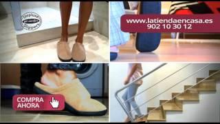 Zapatillas de andar por casa con gel Stepluxe Thumbnail