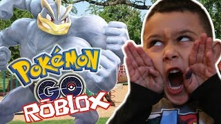 LET'S GO POKEMON HUNTING!?!?! Roblox Pokemon GO (ROBLOX) Gameplay Teil 1