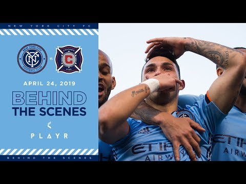 BEHIND THE SCENES | NYCFC vs. Chicago Fire | 04.24.19