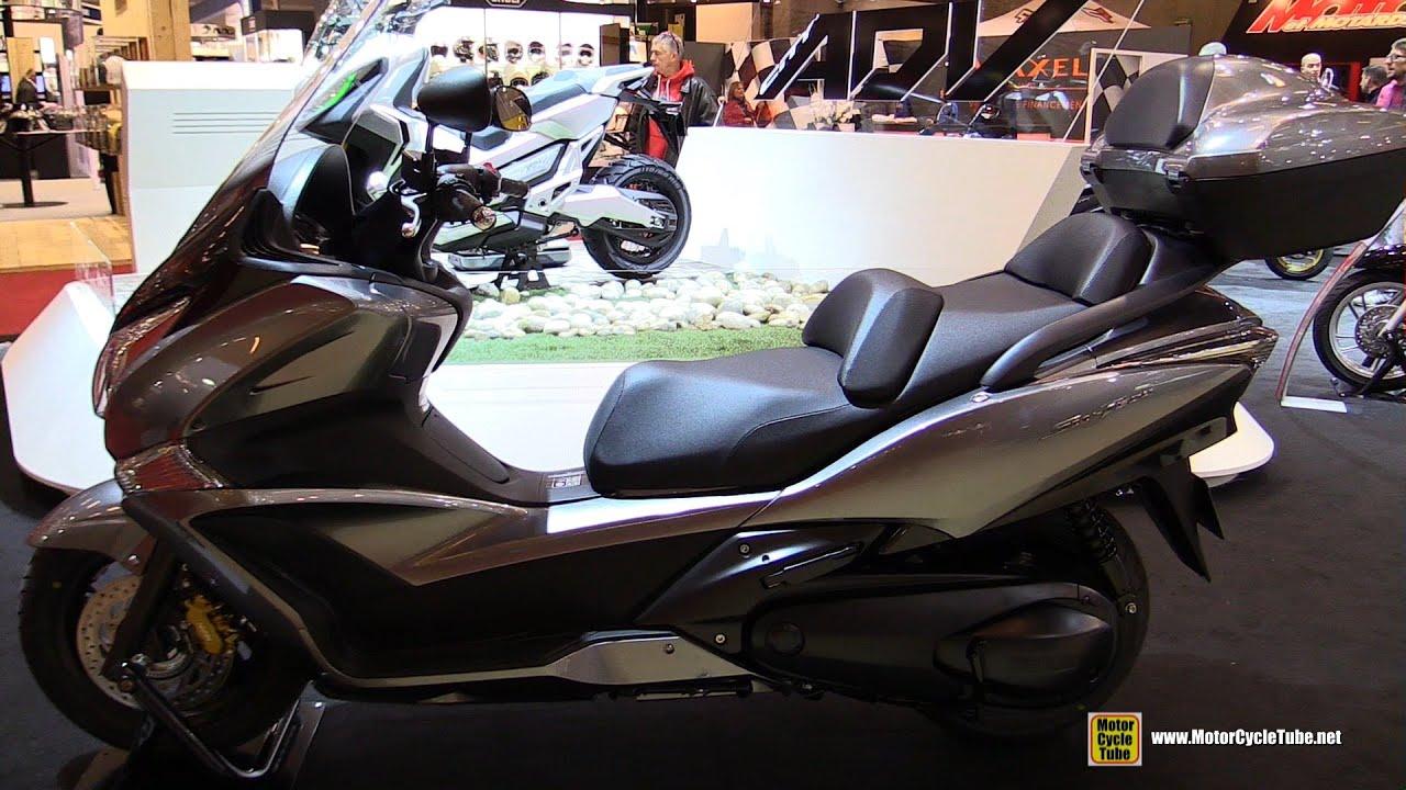 2016 honda sw t600 abs scooter walkaround 2015 salon de la moto paris youtube. Black Bedroom Furniture Sets. Home Design Ideas