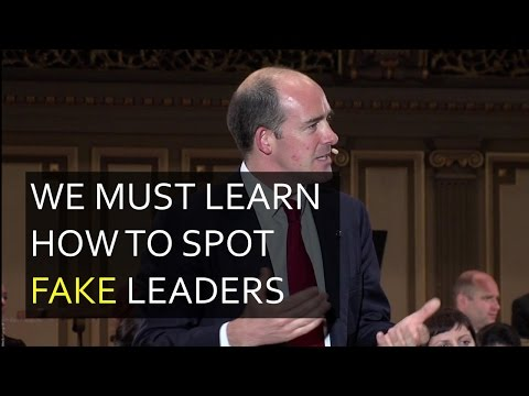 We Must Learn How to Spot Fake Leaders