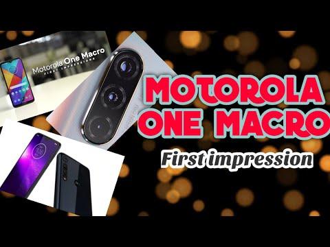 Motorola one macro first impression|Tamil review|Tamil cinima tech
