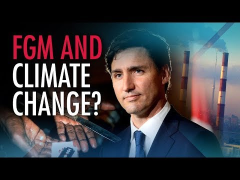 "Media silent as ""vacuous"" PM equates FGM with climate change denial"