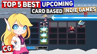 Top 5 Best Upcoming Card Based Indie Games (Games like Mega Man Battle Network!)