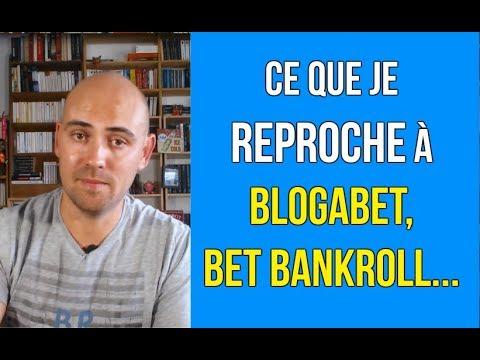 Ce que je reproche à Blogabet, Bet-bankroll...