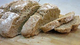 Цельнозерновой хлеб на кефире – быстрый рецепт полезного хлеба