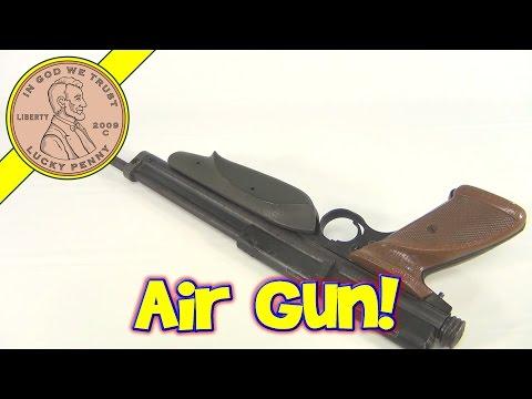 1980's Vintage Crosman, Model No. 1389 Backpacker 10-Pump Air Pellet Gun