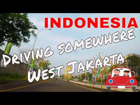 Driving somewhere West Jakarta