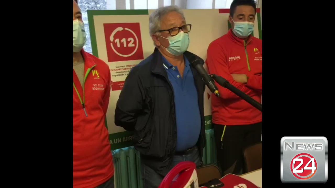 Due defibrillatori a Bognanco
