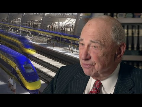 The Politician Behind California High Speed Rail Now Says It