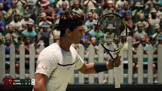 AO International Tennis | PC Gameplay | 1080p HD | Max Settings