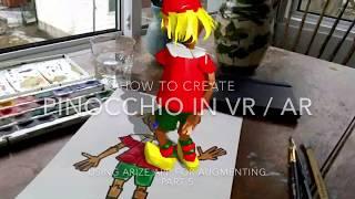 Erstellung von VR-AR Pinocchio . Teil 5 . Augmented In ARIZE
