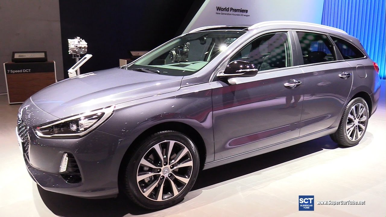 2018 hyundai i30. contemporary 2018 2018 hyundai i30 wagon  exterior and interior walkaround 2017 geneva  motor show on hyundai i30