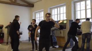 #MannequinChallenge на открытии YouTube Гейминг Россия