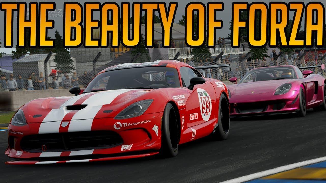 The Beauty of Forza Motorsport 7
