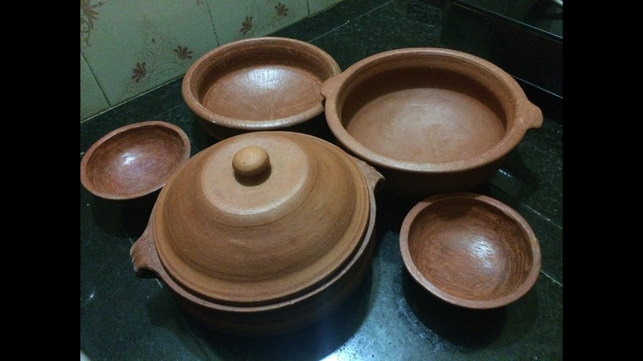 How to Prepare Clay Pot  earthen pot before the First Use  Season or cure a clay pot  YouTube