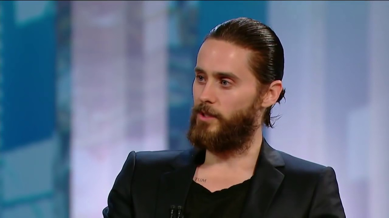 Jared Leto explains his beard - YouTube