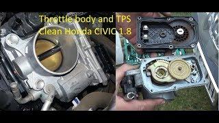 Honda Civic VIII IX 1.8  FULL Throttle Body  + TPS Sensor +