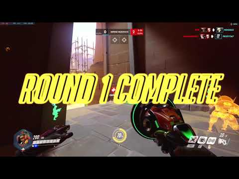 A Die-hard Toxic Player - Overwatch Competitive