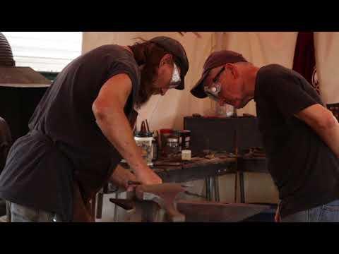 Blacksmithing at the Missouri State Fair