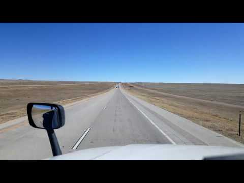 Bigrigtravels Live! - Limon, Colorado to Colby, Kansas - Interstate 70 - February 20, 2017
