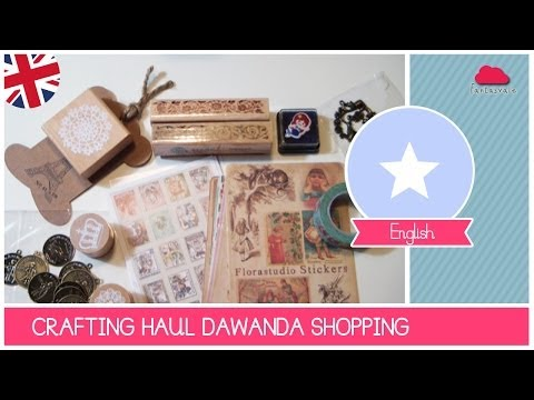 Crafting Love Series: Buy online on www.Dawanda.com - HAUL Video by Fantasvale