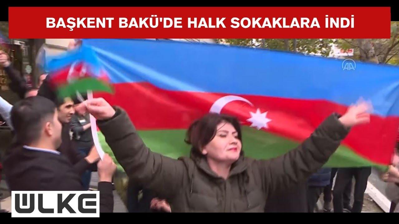 Şusa kenti 28 yıl sonra Ermenistan'ın zulmünden kurtuldu! Bakü'de kutlama başladı!