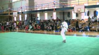 Bryan Kao OSU Advanced Male Nandu Wushu Collegiates 2012