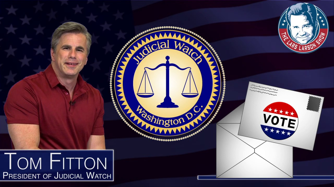 Tom Fitton: How Vote-By-Mail Can Destroy Our Election in 2020