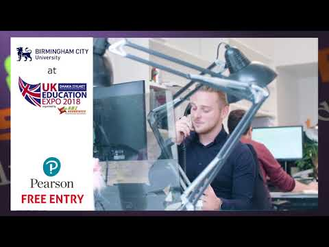 Birmingham City University at UK Education Expo 2018