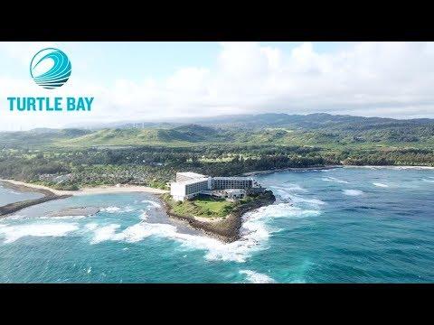 Turtle Bay Resort | Drone flight off Oahu's North Shore
