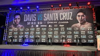 Gervonta Davis Leo Santa Cruz Undercard FULL Press Conference & Interviews EsNews Boxing